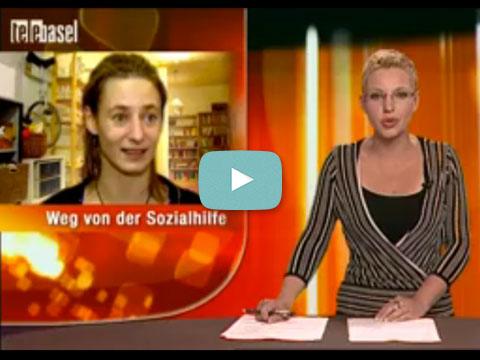 2010 Telebasel über Eröffnung Clara-Brocki