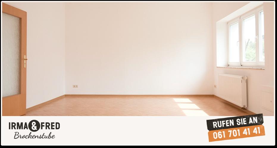 Bild einer leeren Wohnung