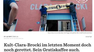 barfi.ch schreibt über Irma & Fred
